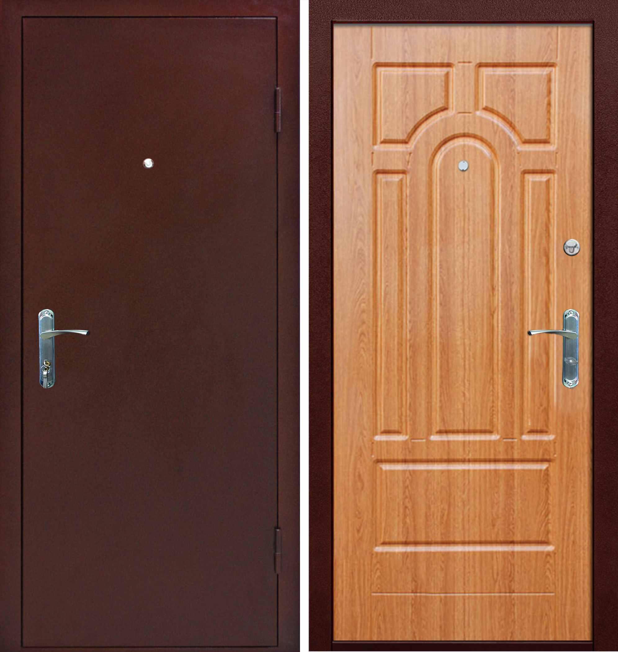 железные двери мдф дешево цена