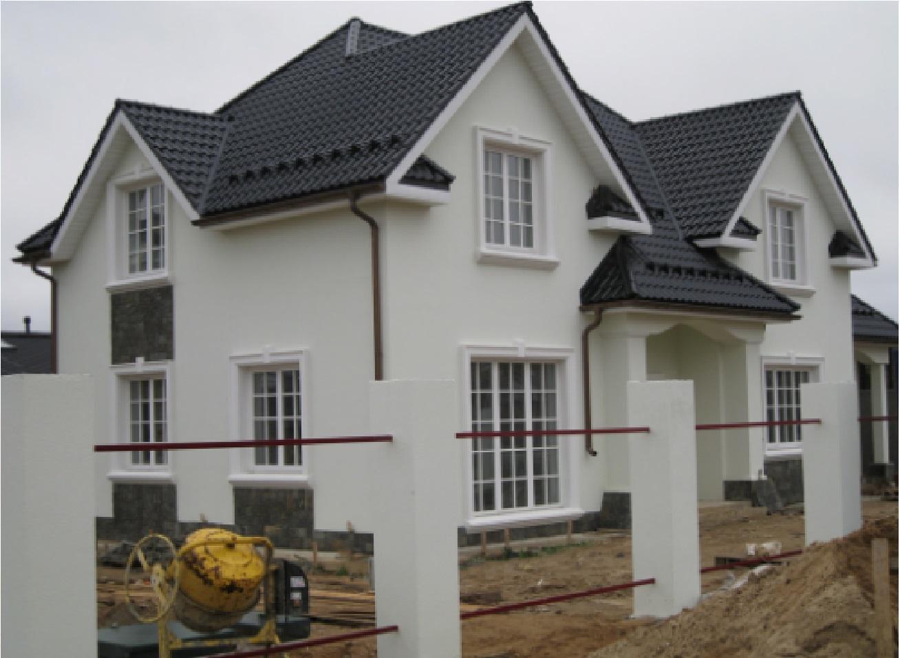 Как красиво оформить фасад дома Оборудование для