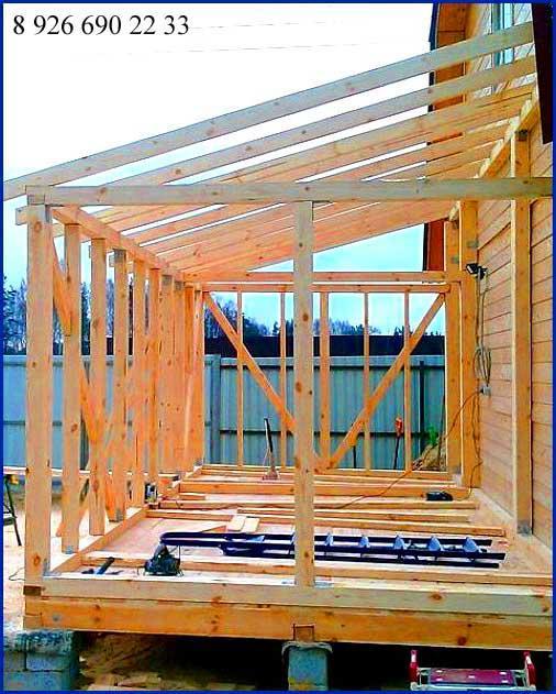 Крыша веранды своими руками фото 394