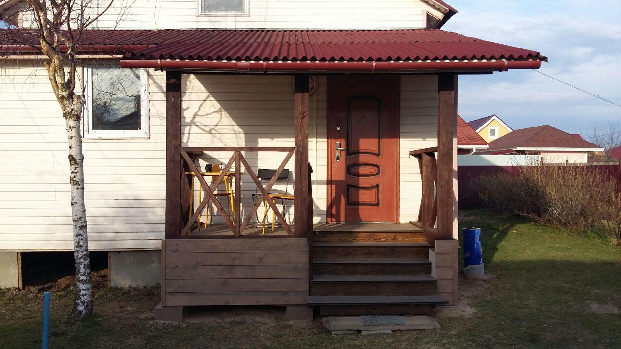 Фото крыльца к деревянному дому фото своими руками 44