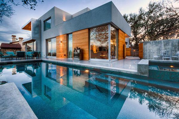 Современные частные дома фото