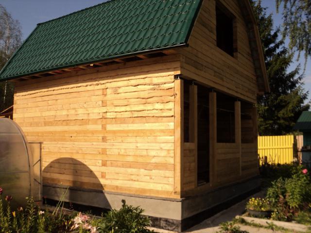 Строительство деревянного дома в
