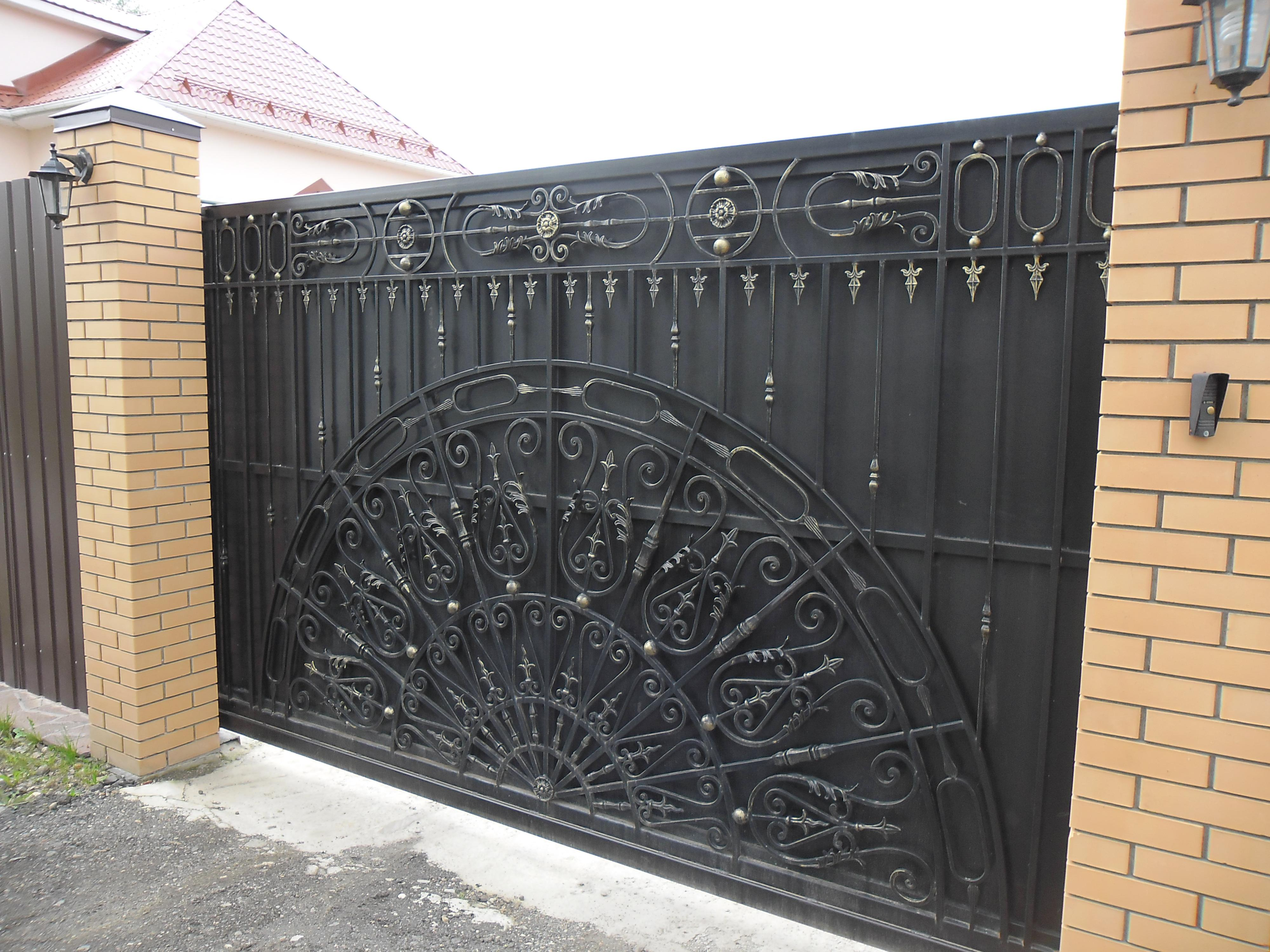 Ворота на роликах своими руками. Откатные ворота на 44