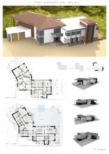 Проект коттеджа, загородного дома