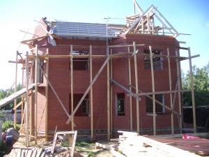 Строительство крыши дома