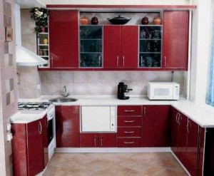 Ремонт П-образной кухни