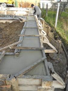 Строительство фундамента под дом