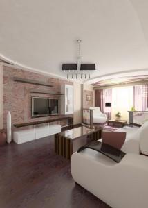 Дизайн проект однокомнатной квартиры