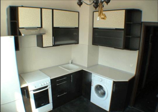 Оформление 5-метровой кухни